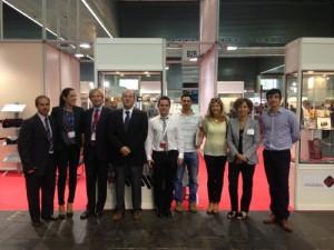 Representantes de CAAR, AERA Y MIJU en la Cumbre Industrial y Tecnológica./ CAAR
