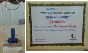 Tata Ficosa development 2013_2
