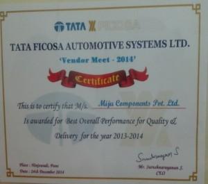 Tata Ficosa vendor2014
